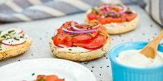 This recipe video shows you how to rock your own vegan bagel with tomato lox and cashew cream cheese. Breakfast will never be the same.