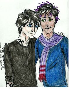 TMI couples #2 - Malec by ~Linaia on deviantART - The Mortal Instruments - Cassandra Clare - Alec and Magnus - Fan Art