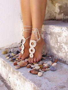 i LOVE barefoot sandals