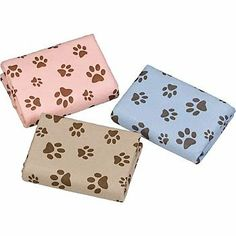Amazon.com: Dogs Unleashed Paw Print Pet Towel: Pet Supplies
