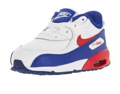 0e9ffb1094e40 Nike Boys Toddler Shoes Size 4C Air Max 90 LTR (TD) 724823-104