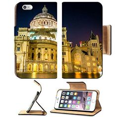 Awesome MSD Premium Apple iPhone 6 Plus iPhone 6S Plus Flip Pu Leather Wallet Case iPhone6 Plua IMAGE ID 33514722 The First Church of Christ Scientist at Christian Science Plaza at night in Boston Massachuset * To view further for this item, visit the image ... 2017-2018