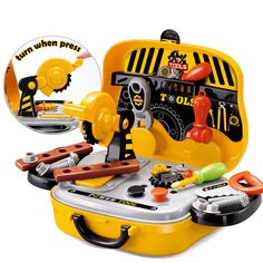 Love Construction Tools Toy Set Toy?  Please Bring Me Back.. https://myhappytoy.com/construction-tools-toy-set/  FREE Shipping Tag a friend who would love Toy! #toy #babytoy #toyforboy #toyforgirl #funtoy