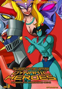 DYNAMIC HEROES DI GO NAGAI N.3