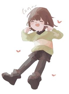 Anime Undertale, L And Light, Fandoms, Fan Art, Pictures, Illustration, Artist, Fictional Characters, Fashion