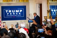 Foxs Arizona Call for Biden Flipped the Mood at Trump Headquarters New York Times, Ny Times, Wisconsin, Michigan, Presidential Seal, Greg Abbott, Eric Trump, Polling Place