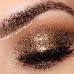 Heavy-metal grungy smokey using @urbandecaycosmetics naked & naked2 palettes. How-to on ze blog: www.MaryamMaquillage.com