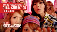 "Vote for Girls' Generation's ""I Got a Boy"" to win Video of the Year at the first ever YouTube Music Awards!"