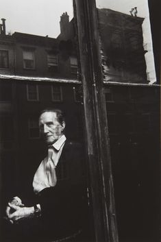 Marcel Duchamp | by Duane Michals, New York, ca1964