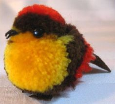 Steiff-Miniature-Wooly-Colorful-Song-Bird