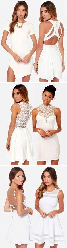 cUte Ivory Dresses ❤︎