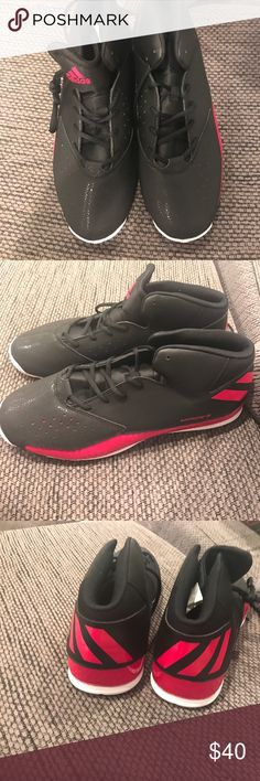 Black and red adidas men's shoes Black and red men's adidas shoes adidas Shoes Athletic Shoes