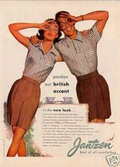Vintage Ads 1950S | Vintage Clothes/ Fashion Ads of the 1950s (Page 34)