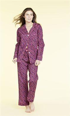 aebd86cd2c Purple Petunia Liberty of London Classic PJ 1002-L-7718 Cotton Sleepwear