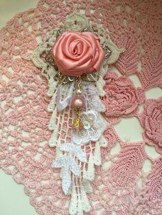 Handmade shabby chic embellishments