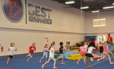 Birthday Parties at Best Gymnastics via @MyDFWMommy