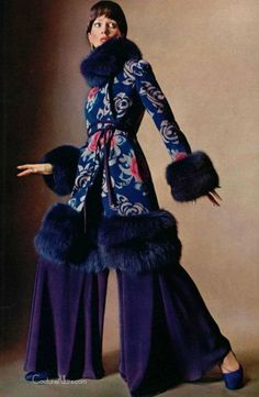 superseventies:  Fashion by Christian Dior, 1970.