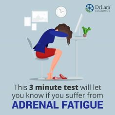 Do YOU have adrenal fatigue? Click this image in our bio link and take a quick and easy test to find out now! ​Feel free to visit us at www.drlamcoaching.com to learn more about your recovery options! Fatigue Syndrome, Video Channel, Adrenal Fatigue, Health Center, Health Articles, Recovery, Drugs, How To Find Out, Coaching
