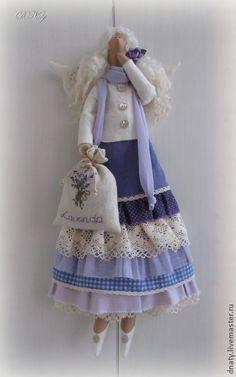 Куклы Тильды ручной работы. Ярмарка Мастеров - ручная работа Тильда Лавандовая фея VI. Handmade.