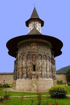 Painted Churches of Moldavia, UNESCO - Romania www.romaniasfriends.com http://www.pinterest.com/romaniasfriends/unesco-painted-monasteries-from-bucovina/