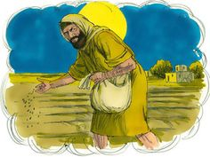 Free Visuals Parable of the Weeds:  Matthew 13:24-30, Matthew 13:36-43