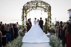 Nell Diamond and Teddy Wasserman's Wedding in Antibes, France.