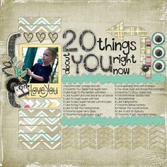 20 Things- Kit: An Extraordinary Life from Wendy Tunison Designs, Temptations Vol. 23 from Wendy Tunison Designs