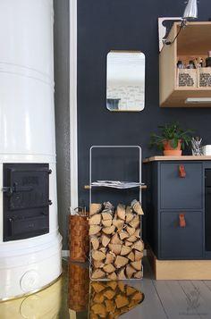 Wood Rack polttopuiden kantamiseen ja säilyttämiseen Wood Rack, Wood Shelf, Wood Mantel Shelf