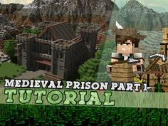 Minecraft Tutorial: Medieval Prison Castle! Part 1/3 - YouTube