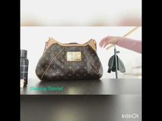 f25cef1a23ad Louis Vuitton Thames GM - cleaning the Vachetta Leather and Monogram Canvas