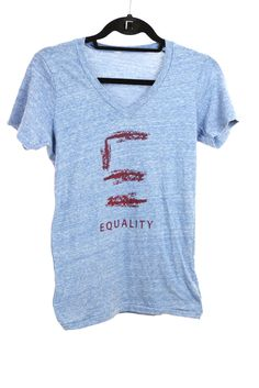 EQIL Dash V Neck shirt supports Equality Illinois
