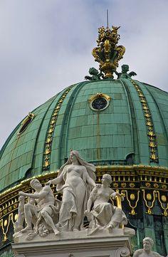 St Michael's Gate Dome  Vienna  -Austria-