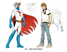 Ken the Eagle, Gatchaman by Cliff Chiang