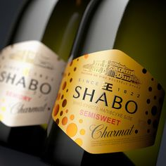 Shabo Classic on Packaging of the World - Creative Package Design Gallery Wine Design, Label Design, Package Design, Beverage Packaging, Packaging Design Inspiration, Worlds Of Fun, Vodka, Alcohol, Soft Drink