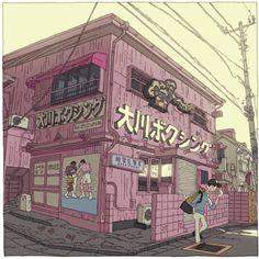 Tokyo 100 views(66〜70) on Behance