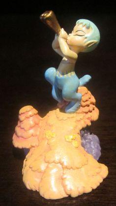 RARE Disney Store Catalog LE Pewter Fantasia Faun Figure Statue Display