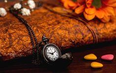 Wallpaper misc, clock, watch, flower, flower petals, time, clocks, flower
