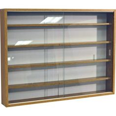 Buy Deco Oak 2 Glass Door Display Cabinet At Argoscouk