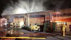 Fire burns building at Paso Robles Event Center - Paso Robles Daily News