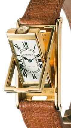 Cartier | Tank Basculante 1932 | Gold | Watch