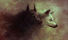 lobo negro wallpaper - Buscar con Google