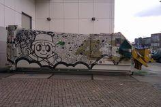 Graffiti @ Eindhoven    Graffiti, Eindhoven, Netherlands, 2012