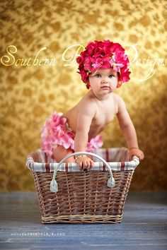 Hey, I found this really awesome Etsy listing at https://www.etsy.com/listing/175877129/hydrangea-flower-hat-bloomers-set
