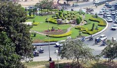 roundabout landscaping design - H'vill TN's book on community design