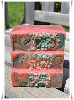 Pink Sugar  Stawberry Handmade Soap by CoffeeHouseSuds on Etsy, $5.00