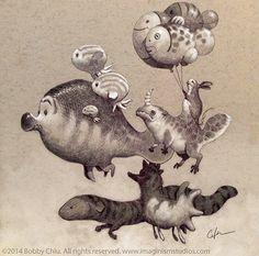Balloons by imaginism.deviantart.com on @deviantART