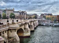 "PONT NEUF: The ""new"" bridge which is now Paris' oldest was built during Henry IV's reign or about Ponte Nova, Saint Chapelle, Ruined City, 7 Continents, Places Of Interest, Virtual Tour, Paris France, Places To See, Tourism"