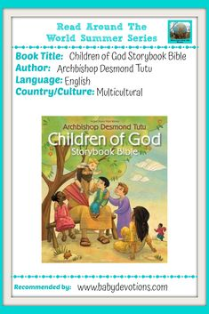 """Review of the """"Children of God Storybook Bible"""" by Desmond Tutu – Baby Devotions Short Prayers, Simple Prayers, Story Of Esther, Desmond Tutu, Bible Resources, Bible Lessons For Kids, I Love My Friends, World Religions, Someone New"""