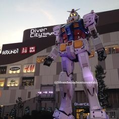World's Largest Gundam!