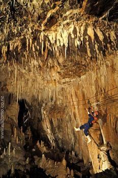 St Benedicts Caverns, Waitomo Adventures
